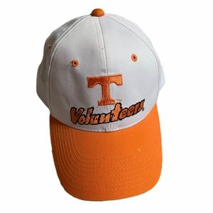 Vintage White and Orange Tennessee Vols SnapBack
